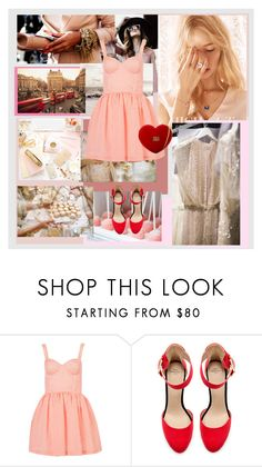"""""""in your heart"""" by annie-z-z ❤ liked on Polyvore featuring Zara and Love Moschino"""