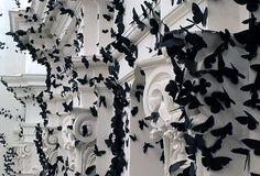 Paper Moths Installation
