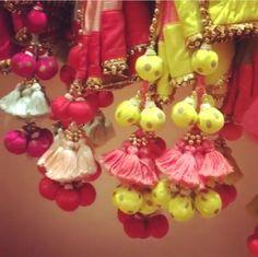 Nikasha # tassel love # Indian wear