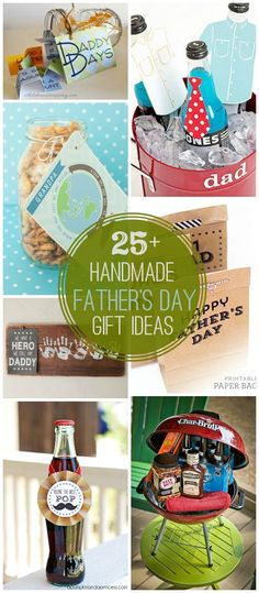 25+ DIY Father's Day Gift Ideas - a great collection of gifts