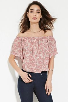 Contemporary Gauzy Floral Top | Forever 21 #thelatest