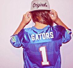 Florida Gators - want this jersey so bad. Florida Gators College, Florida Gators Softball, University Of Florida, Gator Basketball, Softball Jerseys, College Football, Dope Hats, Florida Girl, Summer Goals