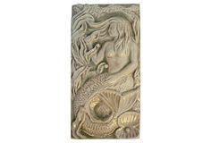 1930s French Mermaid Tile on OneKingsLane.com