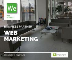 WEB INTERNET e webmarketing In nessun altro ambito della comunicazione si incontrano le possibilità creative – logiche, strategiche e tecnologiche – che è possibile applicare nel settore della produzione web. Queste servono per fare di un sito uno strumento di comunicazione efficace e produttiva.