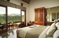 Superior Room bedroom, Alila Ubud, Bali. © Alila Hotels & Resorts