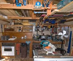12 Woodworking Shop Layout Design No. 13667 Simple Woodworking Shop Projects For Garage Spaces Small Woodworking Shop Ideas, Woodworking Shop Layout, Woodworking Projects That Sell, Woodworking Workshop, Diy Woodworking, Workshop Design, Workshop Storage, Garage Workshop, Basement Flooring Options