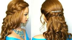 prom hairstyles for long hair - YouTube