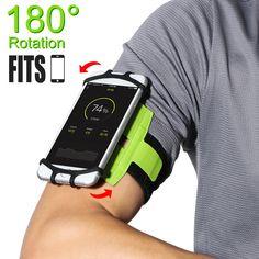 Relojes Y Joyas Sports Running Bag Waterproof Mobile Phone Pouch Running Waist Bag Men Women Jogging Belt Gym Fitness Bag Bike Accessories Pack Bright Luster