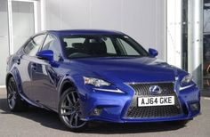 Used 2015 (64 reg) Blue Lexus IS 300h F-Sport 4dr CVT Auto [Navigation] for sale on RAC Cars