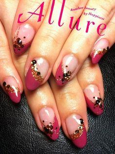 斜めフレンチ ネイル diagonally French nail  design