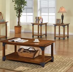 Furniture Of America Bozeman Country style oak finish coffee table set Simple yet detailed, this living 4 Piece Living Room Table Set, 3 Piece Coffee Table Set, Coffee And End Tables, Coaster Furniture, New Furniture, Living Room Furniture, Discount Furniture, Classic Furniture, Furniture Ideas