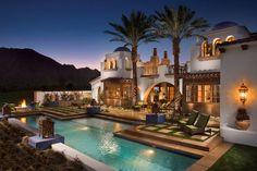 hacienda homes | this beautiful spanish hacienda style home is located at 80185 via ...