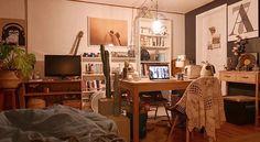 "1,517 Likes, 1 Comments - 집꾸미기 (@ggumigi) on Instagram: ""집이 곧 추억이고 그래요☺️ @tarimi_ebs 님의 소중한 공간입니다. . ""마음이 편해야 진정한 쉼이 될 수 있음을 느끼고 나서부터 취미와 취향에 따라 집을 꾸미기…"""