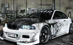 BMW E46 323Ci white