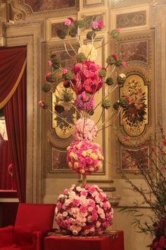 #Flower Arrangement Vienna #Opera ball 2014 www.barendsen.nl