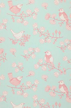 This darling vintage rose wallpaper has a sumptuous satin finish in pastel pink, purple and white. This wallpaper is inches wide and 33 feet long. Bird Wallpaper, Mobile Wallpaper, Wallpaper Backgrounds, Iphone Wallpaper, Vintage Wallpaper Patterns, Pattern Wallpaper, Design Art Nouveau, Cute Cartoon Wallpapers, Vintage Paper