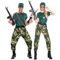 Déguisements Soldats Paramilitaire #déguisementscouples #nouveauté2017