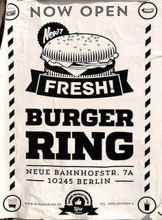 Burger Ring – found in Friedrichshain