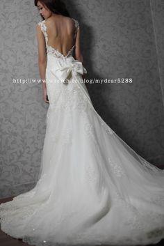 【Dear Wedding】手工婚紗:W-009挖背蕾絲 @ 推薦台北手工婚紗禮服工作室 Dear Wedding (婚紗 :: 隨意窩 Xuite日誌