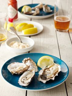 I have always loved oysters....   <3   Hama Hama - Blue Pool and Hama Hama Oysters (1 dozen of each)
