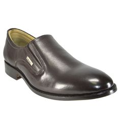 Handmade Leather Shoes : Edward45brn Valentino