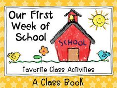 Back to School First Graders! $ Filled with activities for the beginning of the school year.