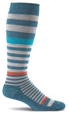 fc7eb87a6b Sockwell Women's Orbital Moderate Graduated Compression Socks (15-20mmhg)