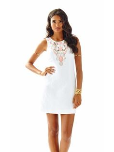 Lilly Pulitzer Logan Embroidered Shift Dress