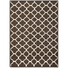 Brown & Ivory Dhurrie Wool Rug ($115) ❤ liked on Polyvore featuring home, rugs, cream rug, wool rugs, wool dhurrie rugs, brown rugs and wool area rugs