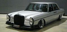 Mercedes-Benz W108 Bagged on Custom 3 Piece ATS Barock 01