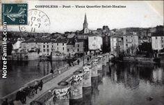 Vieux Pont sur la Vienne Quartier St Maxime