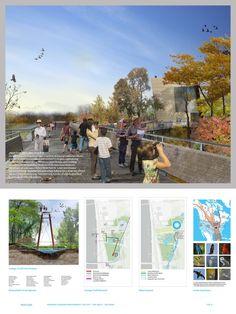 FRAMING A MODERN MASTERPIECE DESIGN COMPETITION Landscape Architect : Michael Van Valkenburgh Associates