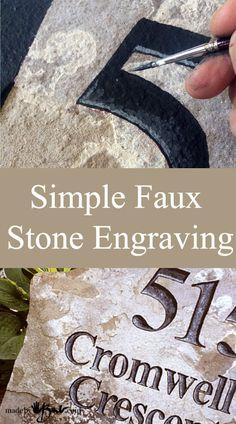 Faux-Stone-engraving-madebybarb