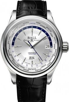 Ball Watch | Trainmaster Worldtime 2016 - Model GM2020D-LL1FCJ-SL