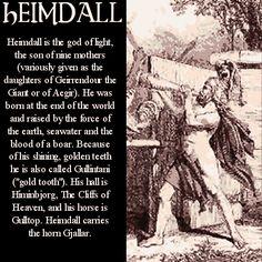 Heimdall - norse-mythology Photo