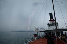 high voltage on steamboat Uri 2011 lake lucerne switzerland
