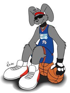 NBA Mascots - Hip Hop by Bleuxwolf on DeviantArt
