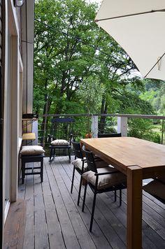 Erdei Kisház projekt teljesítve | juditu Wooden House, Outdoor Furniture, Outdoor Decor, Dining Table, Home Decor, Decoration Home, Room Decor, Dinner Table, Dining Room Table