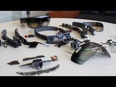 what powers Microsoft's new augmented reality headset? Microsoft HoloLens teardown...