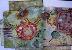 My Cup of Tea: Junk Mail Book Pages 16 and 17