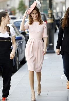 Beulah London Pale Pink Dress  #modestfashion