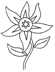 Flowers Coloring pages. Printable Flower Coloring Pages.These printable flower coloring pages are free. Coloring pictures and sheets of f.