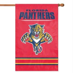 NHL Florida Panthers Applique Banner Flag