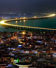 I remember being taught about this bridge way back in primary school. It is the longest bridge in West Africa and connects the Lagos Island to the mainland.  The 1st time I drove on this bridge was pretty scary because I had just recently learned to drive but now, it is one of my fav roads to travel on (when there is no traffic of course :) )