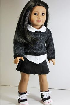 American Girl Doll ClothesPullover Sweater by sewurbandesigns, $8.00