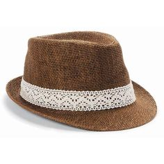 Straw Fadora Hat