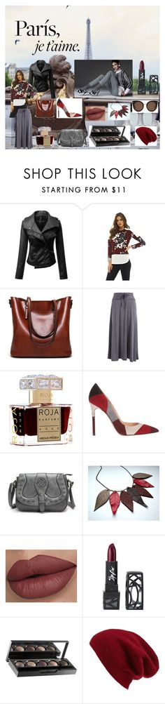 """""""No Contest Fashion"""" by snowflakes214247 ❤ liked on Polyvore featuring AX Paris, Roja Parfums, Gianvito Rossi, The Lip Bar, Halogen and STELLA McCARTNEY"""