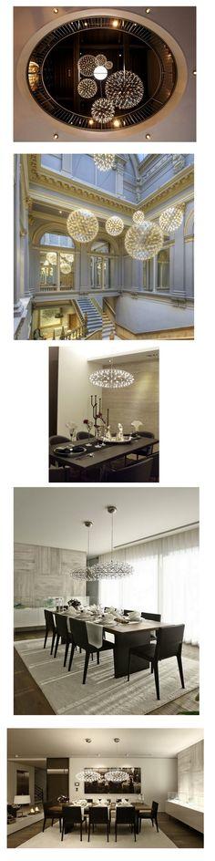 "「moooi」榮獲""australian international design awards"",由數學教授Raimond Puts設計,應用數學幾何概念,搭配LED燈泡,設計出驚艷視覺及情感訴求的同名燈款---""Raimond"""