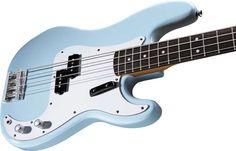 P-Bass sonic blue