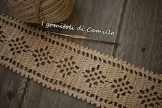 Captivating All About Crochet Ideas. Awe Inspiring All About Crochet Ideas. Crochet Lace Edging, Filet Crochet, Crochet Doilies, Knit Crochet, Crochet Patterns, Crochet Table Runner, Point Lace, Lace Border, Crewel Embroidery